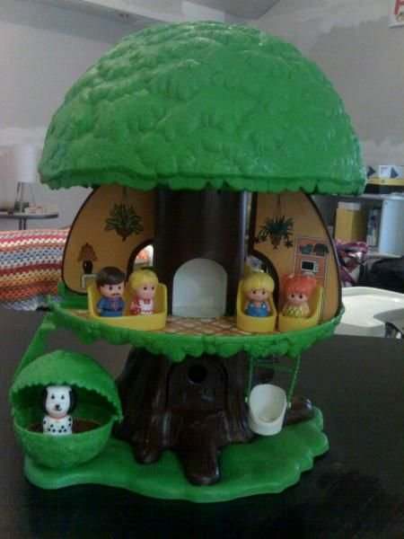Fisher price vintage treehouse