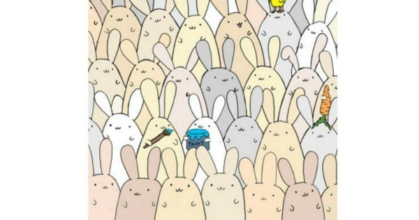 find the easter egg in the bunnies