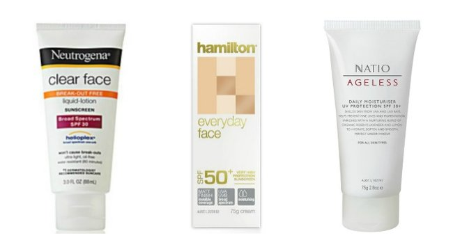 6 great sun-protective skin products to wear under your makeup.