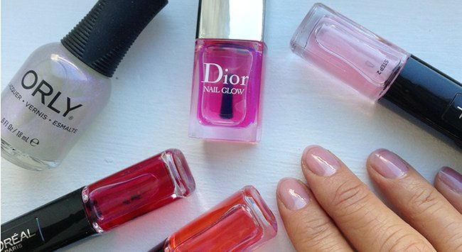 Sheer nail polish: The easiest, freshest new nail look.
