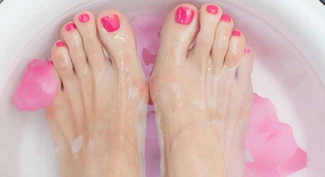 Does the mouthwash foot bath actually work?