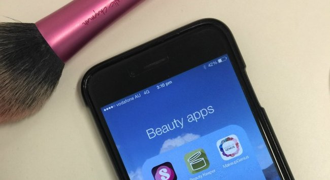 The three genius apps every beauty lover needs on their phone.