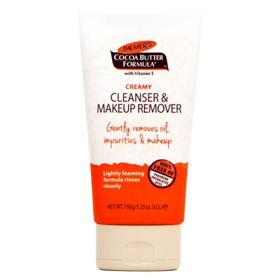 Palmers Creamy Cleanser and Makeup Remover, $9.99