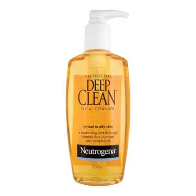 Neutrogena Deep Clean Facial Cleanser, $13.99