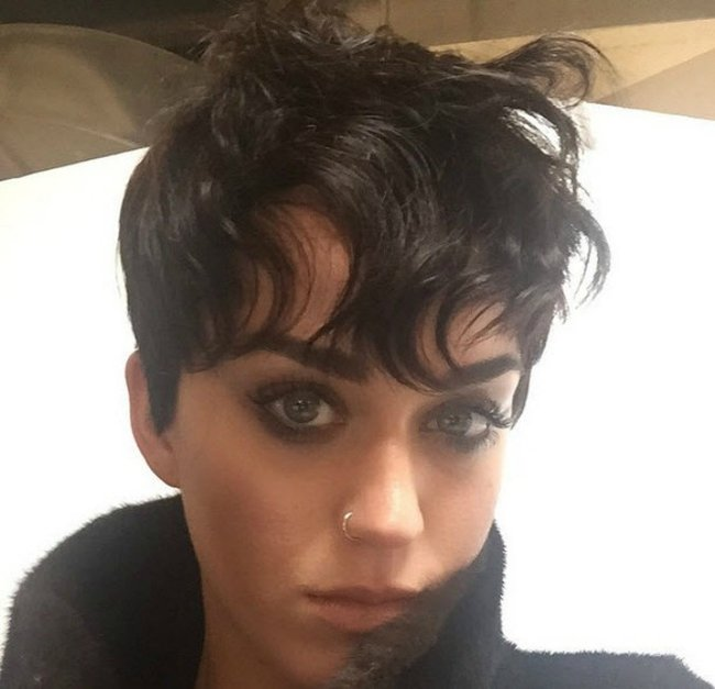 Katy Perry short hair