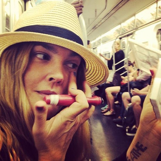 We love these Drew Barrymore post baby body quotes Drew Barrymore Instagram