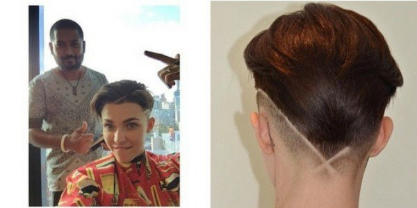 Ruby Rose Celebrity Hair Changes Really: This New Ruby Rose Hairstyle Is A Fresh Take On The Buzzcut