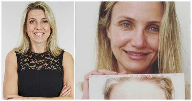 c9558a31c972 The Cameron Diaz make-up free selfie that made us cheer.