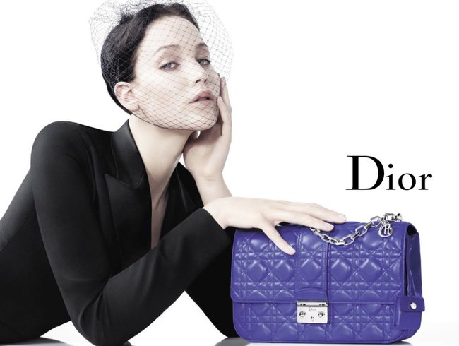Jennifer Lawrence's latest Dior Campaign