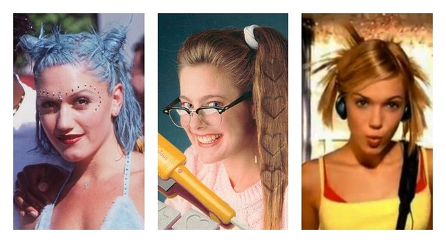 the most ridiculous hair fads of the 1980s 90s and 00s