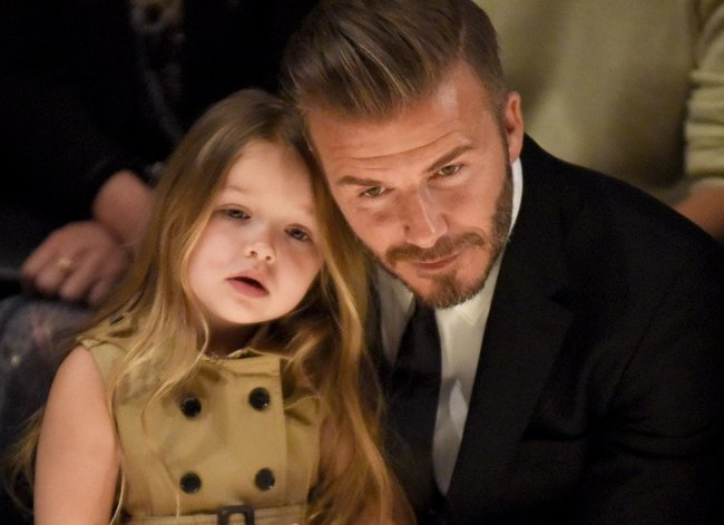 All the times David Beckham made us want another baby and another husband.