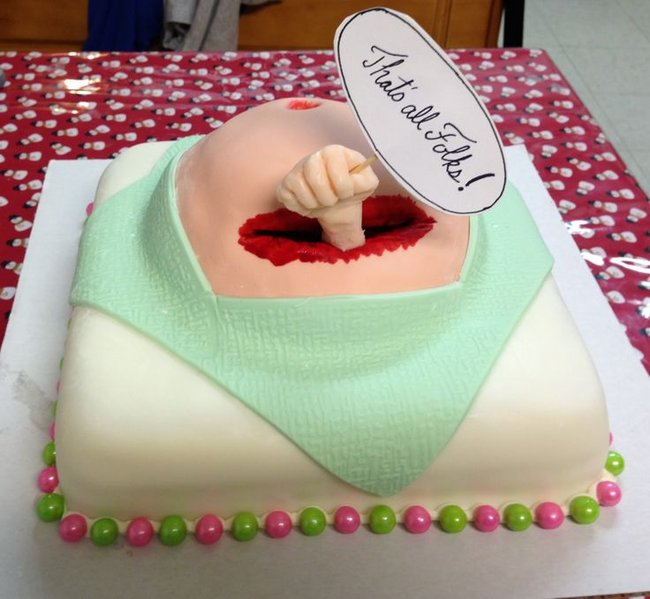 14 of the worst c section baby shower cakes we have ever come across