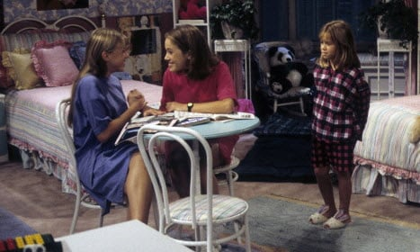 Congratulations are in order for this Full House child star.