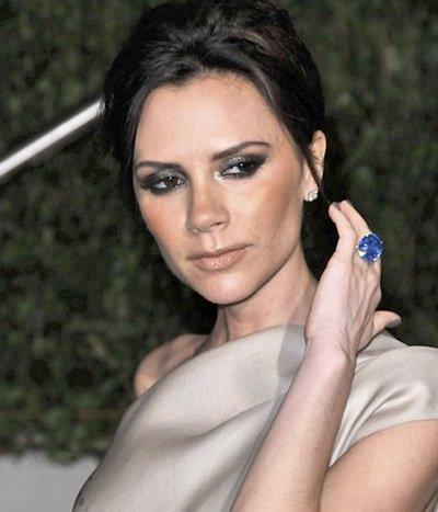 victoria beckham engagement rings
