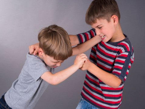 children fighting at school - photo #5