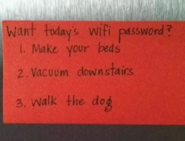 18 hilarious notes we wish we'd written to our kids