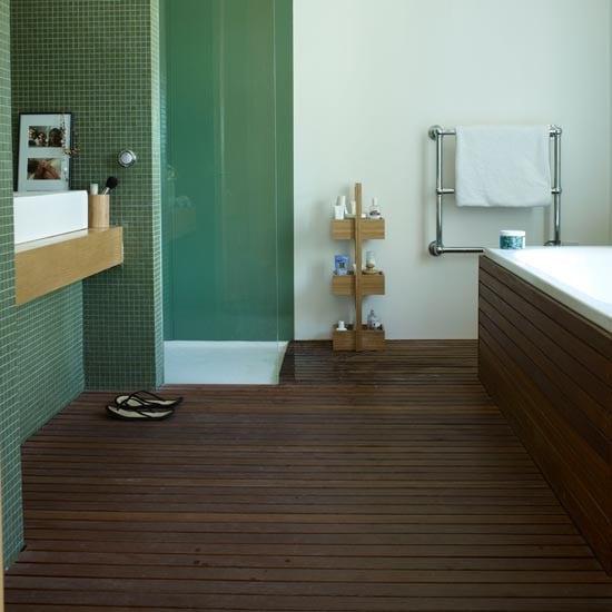 3D Badezimmerboden
