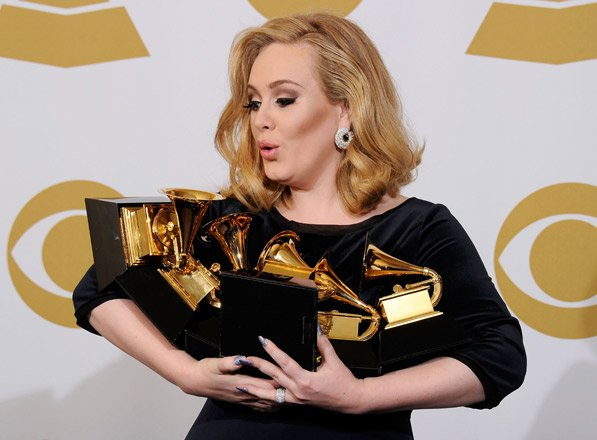 The Grammys 2012 - photo highlights