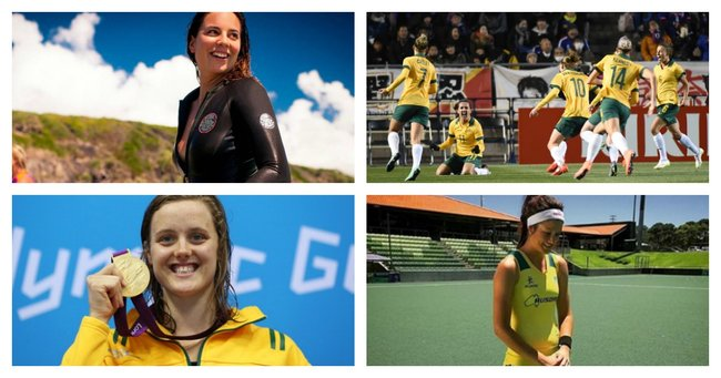 Four ordinary Aussie women doing extraordinary things in sport.