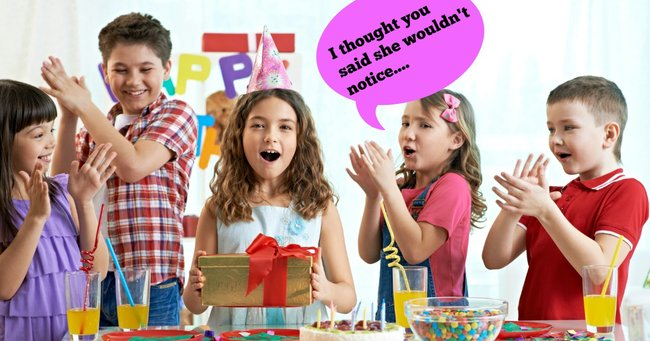 Do You Have To Buy A Birthday Present For Childs Party