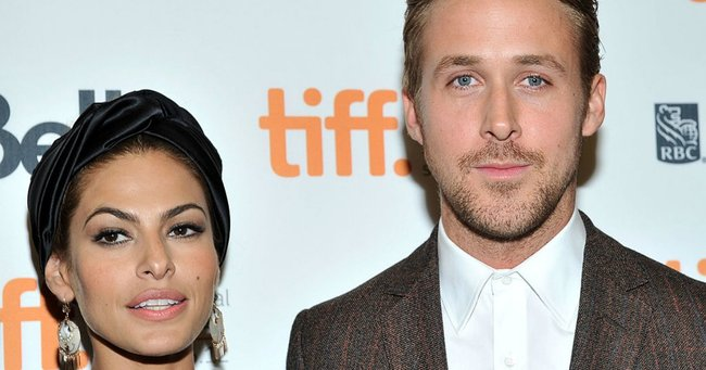 Eva Mendes just responded to Ryan Gosling's Golden Globes speech. We think. Maybe.