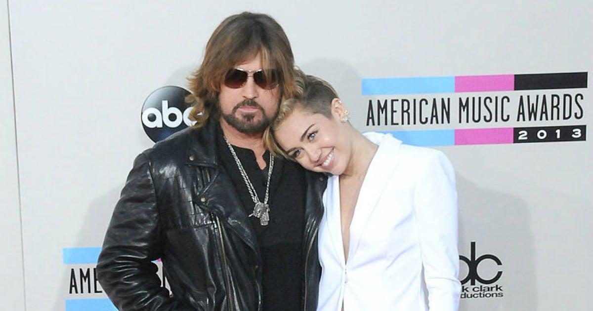 Miley Cyrusun babası Billy Ray Cyrus. Miley Cyrus 4