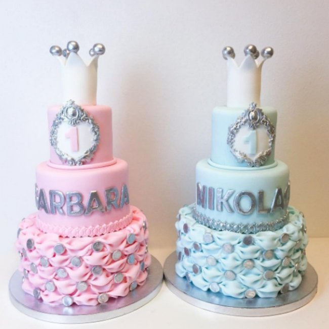 Easy cake decorating ideas for the last minute bake.
