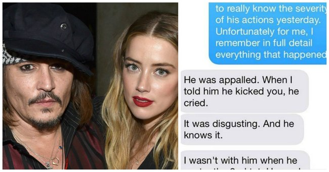 Listen To Text Messages >> Were Amber Heard's texts fake? Depp's assistant speaks out.