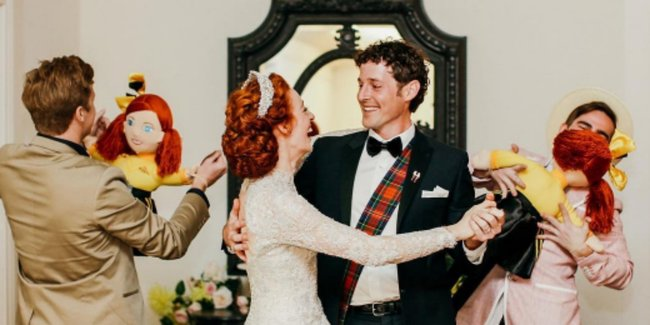 Emma Wiggle Reveals Her Favourite Wedding Moment
