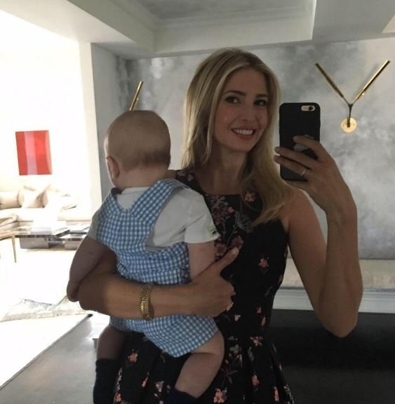 Styling tips for big boobs courtesy of Ivanka Trump.