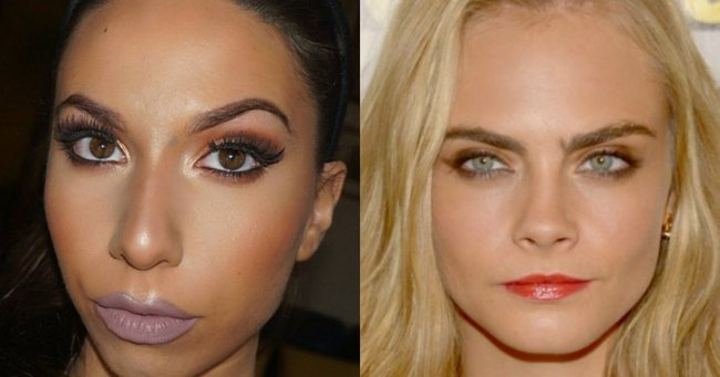 You need to see this makeup artist transform herself into Cara Delevingne.