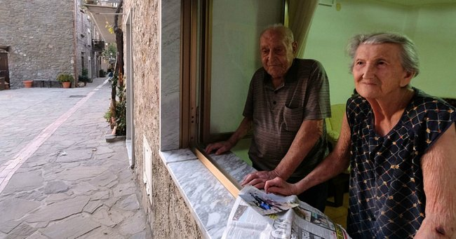 The secret to how so many people in this Italian town are living to 100.