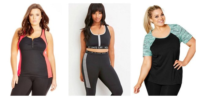 The plus size activewear brands that cater to women over size 16 sciox Images