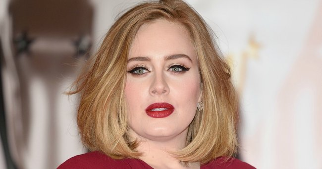 adele post natal depression