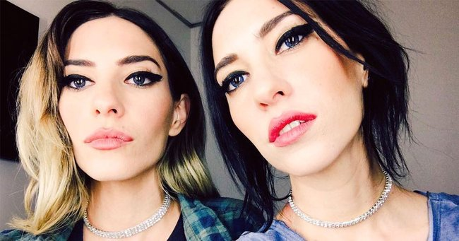 The Veronicas just found out the hard way you should never get into a stranger's car.
