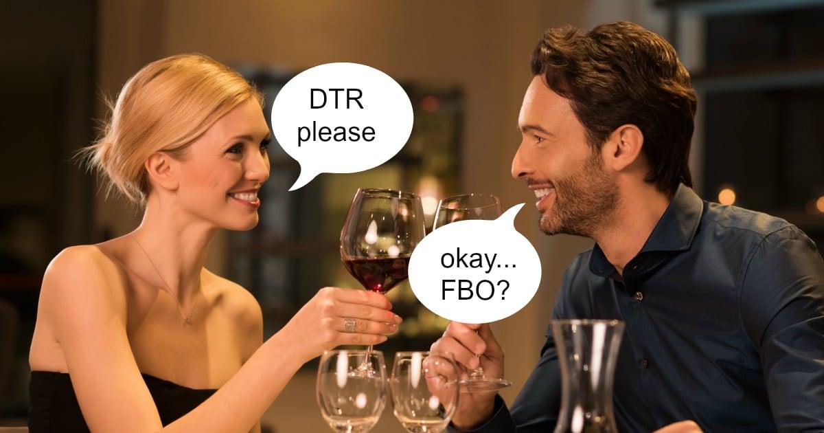 Casual Dating Slang