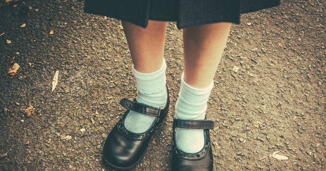 Why do we still make girls wear skirts and dresses as school uniform?