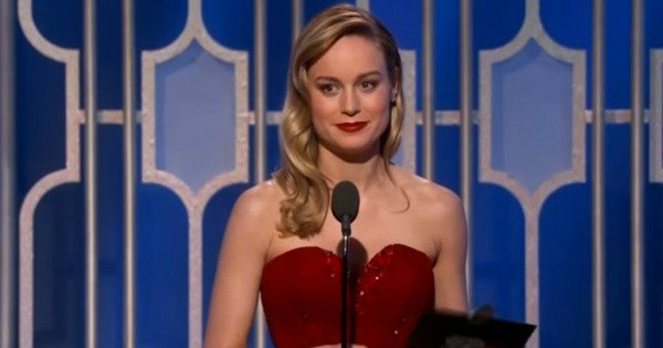 The Golden Globes moment that wiped the smile off Brie Larson's face.