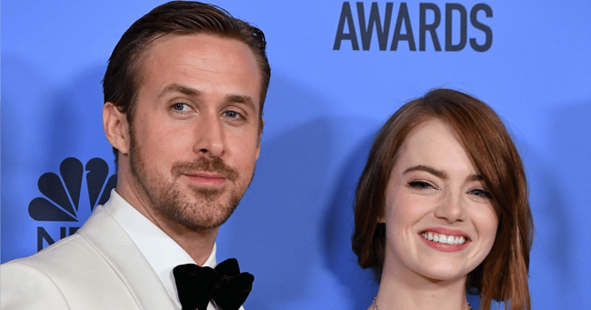 Who almost starred in La La Land before Ryan Gosling and Emma Stone replaced them.