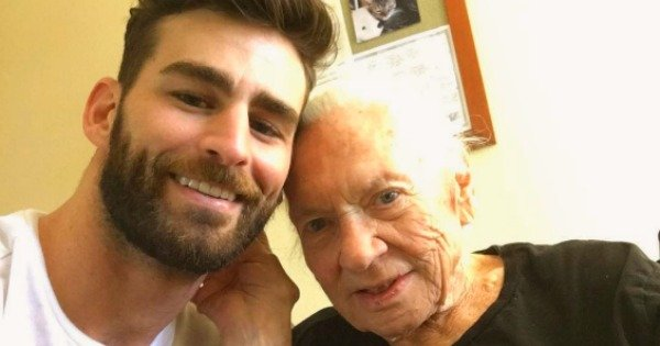 The elderly woman who was 'adopted' by her young neighbour has died.