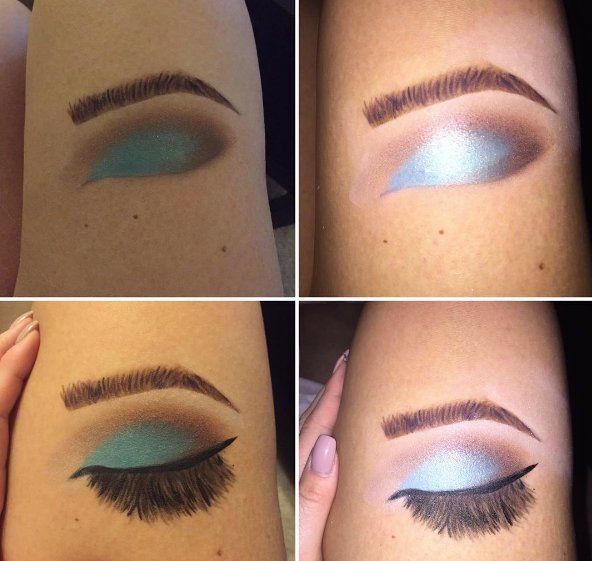 thigh makeup