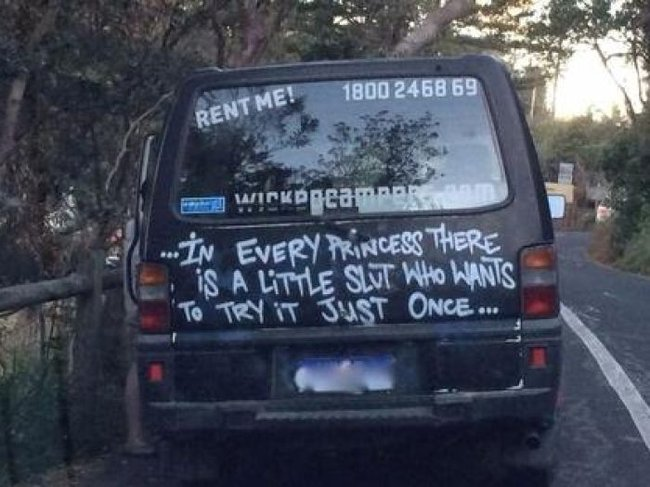 Offensive Wicked Campers vehicles face de-registration on Queensland roads under new law.
