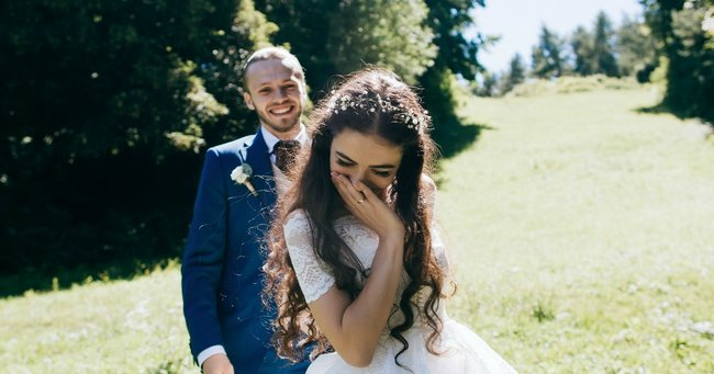 A bride tricked her guests into paying for her entire wedding and we don't know how to feel.