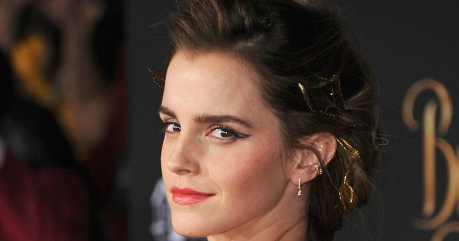 Emma Watson's beauty routine involves oiling her pubic hair and she's not afraid to say it.
