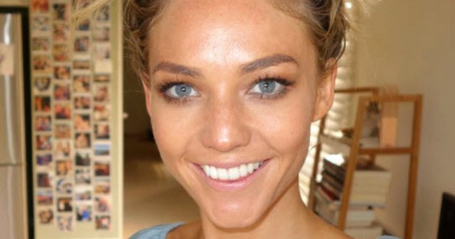 Sam Frost just had an all-too-relatable fake tanning accident.