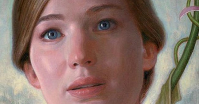 Jennifer Lawrence's new movie poster will guarantee you never sleep again.