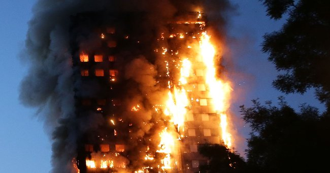 'The sky was glowing.' Firefighter's harrowing account of the Grenfell Tower fire.