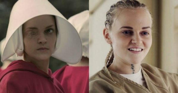 a comparison of the handmaids tale The handmaid's tale anticipates cat's eye's dramatization of the female-directed (309) a comparison of the aunts' responsibility and.