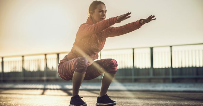 Pelvic floor squats: a squat a day to keep your pelvic floor in good