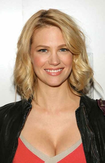 The racist January Jones Instagram picture she had to pull. January Jones Instagram